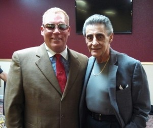 EA Kroll with Bobby Valli brother of Frankie Valli