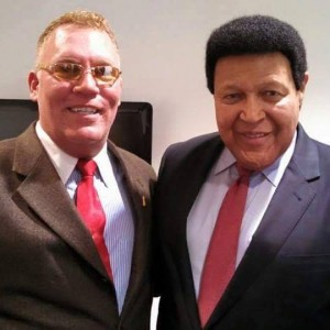 EA Kroll with Chubby Checker