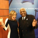 JT Carter with Eve Tannery of WFMZ TV