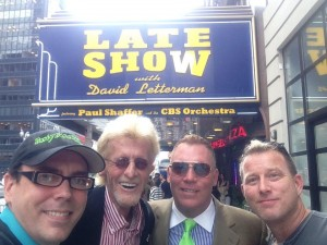 David Letterman taping