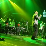 John Donovan performing with 311