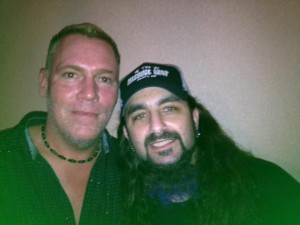 EA Kroll with Mike Portnoy
