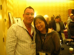 EA Kroll with May Pang John Lennon's (Long Weekend)