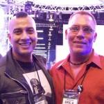 EA Kroll with producer Joy Basu
