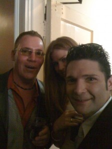 EA Kroll with Corey Feldman