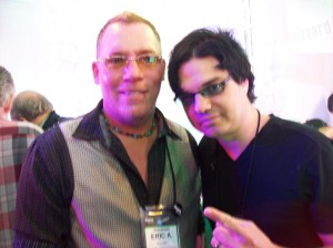 EA Kroll with Jules Rabino of Blue Oyster Cult